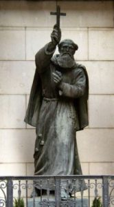 Statue of Marco d'Aviano