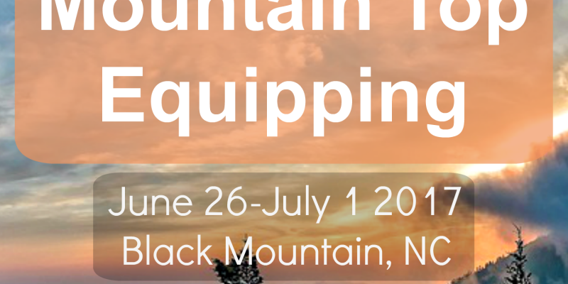 2017 Mountain Top Equipping
