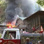Fire at the Log House