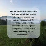 Praying for God's Kingdom to prevail against anarchy and lawlessness