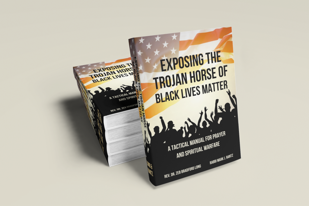 picture of the book Exposing the Trojan Horse of Black Lives Matter: A Tactical Manual for Prayer and Spiritual Warfare